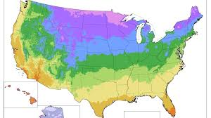 Plant Zone Chart Gardening Map Of Warming U S Has Plant Zones Moving North