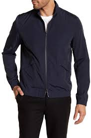 theory drafted dual zip blouson jacket