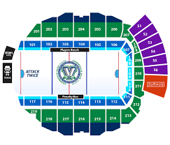 Seating Chart Utica Comets Official Website
