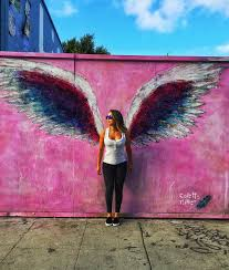 assembly los angeles 7977 melrose ave  on angel wings wall art los angeles address with the art selfie is one of the most la things you can do travelcoterie