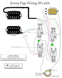gibson les paul 50s wiring diagrams together gibson les paul jimmy page 50s wiring mylespaul com