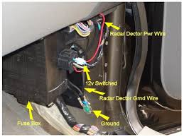 hard wire radar detector? f150online forums F150 Fuse Box automatically powers on and shuts off completely with the ignition switch doesnt keep power like the stereo does with key off total cost was under $7 00 f150 fuse box diagram