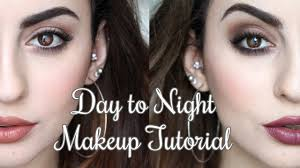 day to night makeup tutorial feat toofaced chocolate bar palette you