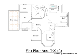 architecture house plans and architectural design of houses in india 2600 sqft 4bhk house plan for