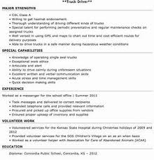 Objective For Truck Driver Resume Truck Driver Resume Examples Pointrobertsvacationrentals 64