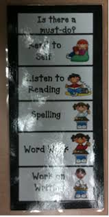 Daily Five Chart Printables Daily 5 Center Rotation Bookmark For Students And