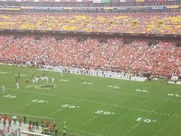 Washington Redskins Seating Guide Fedexfield