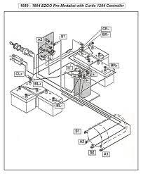 Diagram club car wiring volt with precedent gas engine golf cart 92 wires electrical system 1992