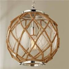 fresh recommendations nautical chandelier beautiful jute rope globe for nautical chandelier
