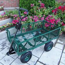 garden cart lowes. Oakland Living 4.21-cu Ft Steel Yard Cart Garden Lowes