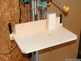 how to make a drill press table