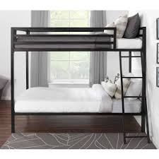 mainstays premium twin over twin metal bunk bed multiple colors com