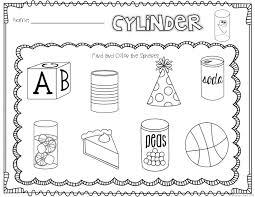 Kindergarten 3D Shapes Worksheets Free Worksheets Library ...