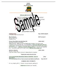Sample Resume Written To Land A Blue Collar Job Best Solutions Of