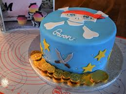 Because Who Doesnt Want A Pirate Themed Birthday Cake When Theyre