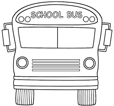 Small Picture School Bus Front Coloring Page Back to School
