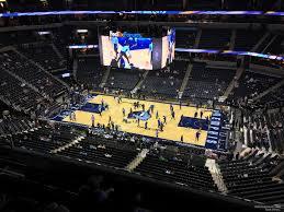 Fedex Forum Section 210 Memphis Grizzlies Rateyourseats Com