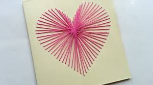 How To Create a Beautiful String Art Heart Card - DIY Crafts Tutorial -  Guidecentral - YouTube