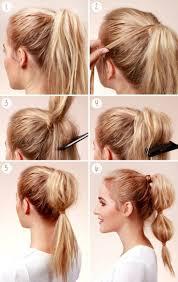 Die Besten 25 Frisuren Toupiert Anleitung Ideen Auf Pinterest