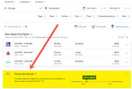 Google Flights Chart How To Use Google Flights To Find Cheap Flights Million