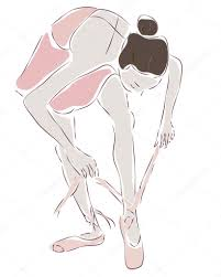 Ballerine Dessin De Danseuse De Ballet Image Vectorielle Aleksad