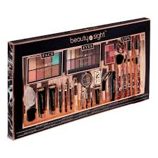 beauty in sight face eyes lip makeup set 53 pieces 25 value walmart