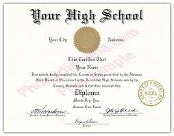 High School Diploma Certificate Fancy Design Templates High School Fake Diplomas Fake High School Degrees And