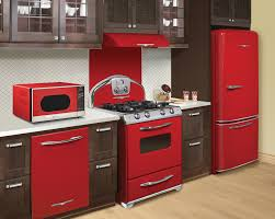 Kitchen With Red Appliances Red Appliances For Kitchen 2017 Home Style Tips Creative With Red