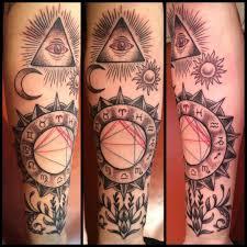 Awesome Astrology Tattoos Tam Blog Astrology Tattoo