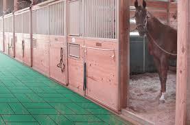 1 horse stall tiles