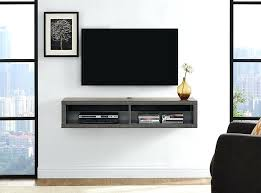 wall mount tv component shelf shallow wall mounted component shelf wall mount under tv component shelf