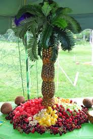 Fruit And Candy Palm Tree Hire  Chocolate Fountain HireFresh Fruit Tree Display
