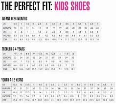Vans Toddler Shoe Size Chart Vans Shoe Size Chart Youth Www Bedowntowndaytona Com