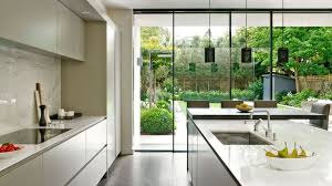 a bright and light filled kitchen extension with kitchen island