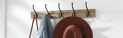 Home To Office Solutions Coat Rack Amazon AmazonBasicsWall Mounted Coat Rack Black Home Kitchen 87