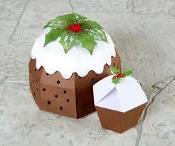 Christmas Pudding Made Using The Cutting Craftorium Christmas Usb