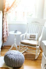 nursery rocking chair love this distressed rocking chair and pillow such a sweet vintage shabby chic nursery bedrooms nursery rocking chair