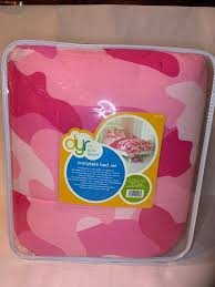 kids dyr do your room pink camo complete bed set brand new full size