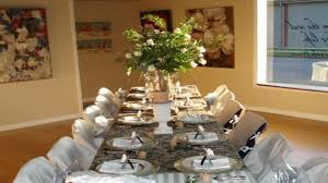 Decorating Ideas For Christmas Dinner Party : Thanksgiving dinner table  setting ideas christmas