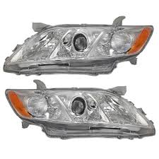 Amazon.com: Toyota Camry Usa Built Base Le Xle 09 Head Light Lamp ...