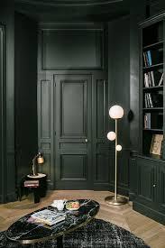25 elegant dark living room design