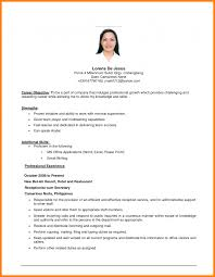 Ideas For Resume Objectives Maker Military Guide Vozmitut