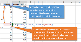 3 ways to calculate running totals in