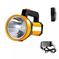 200000LM Đèn Pin Siêu Sáng Đèn Khẩn Cấp Sạc Lại Cầm Tay Đèn LED Chiếu Điểm