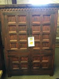 rustic spanish furniture. Rustic Canyon Red Distressed Spanish Armoire Furniture