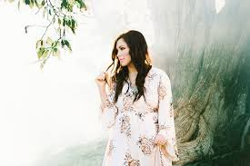 kari jobe paints the most beautiful picture of redemption in the garden