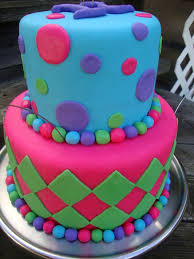 cool cakes for girls 12. Simple Girls Cool Birthday Cake  Made This For A 12 Year Old Girls Party  The Top  On Cakes For Girls I