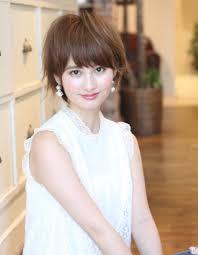 ミセス大人女子の小顔ショートボブke 482 ヘアカタログ髪型