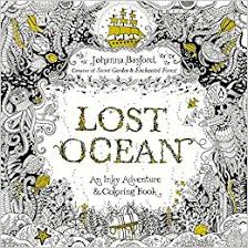 amazon lost ocean an inky adventure and coloring book for s 9780143108993 johanna basford books
