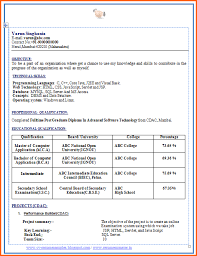 cv and resume samples with free download mca fresher resume sample fresher resume sample